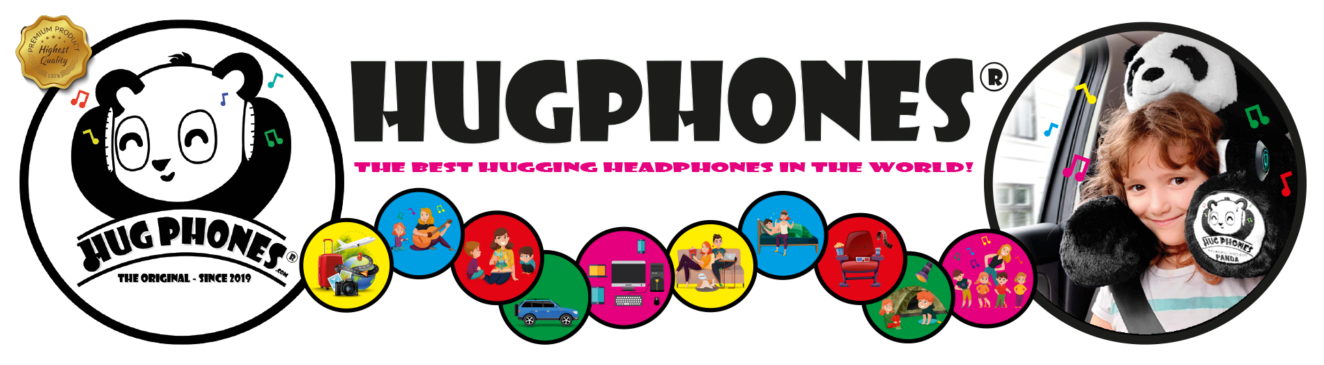 Go to HugPhones Webshop now!